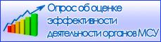 Опрос об оценке эффективности деятельности органов МСУ